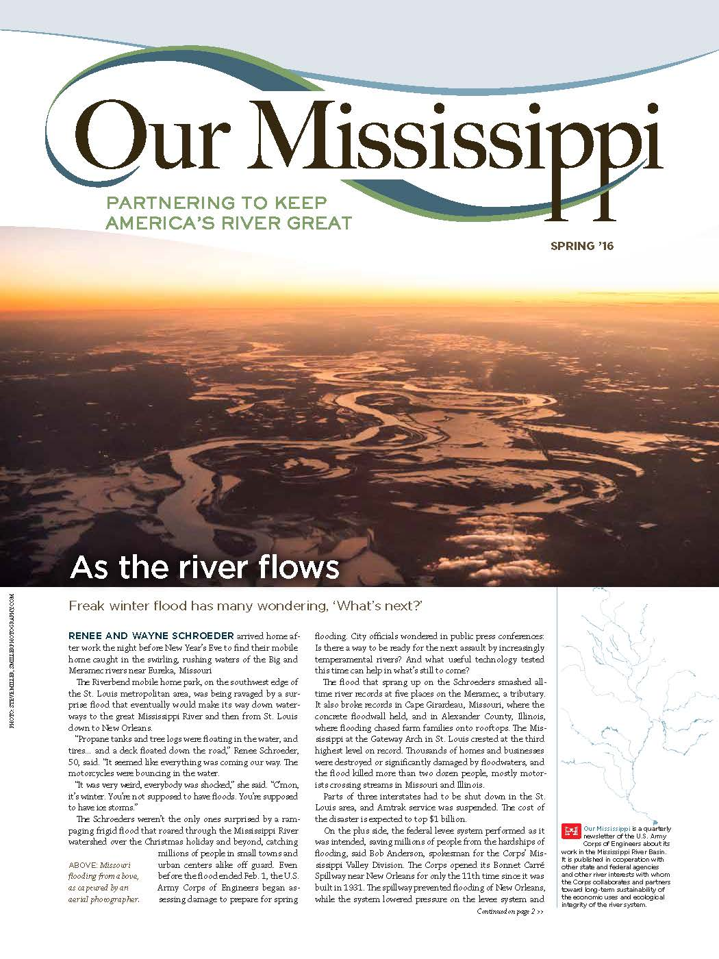 Current issue of Our Mississippi.