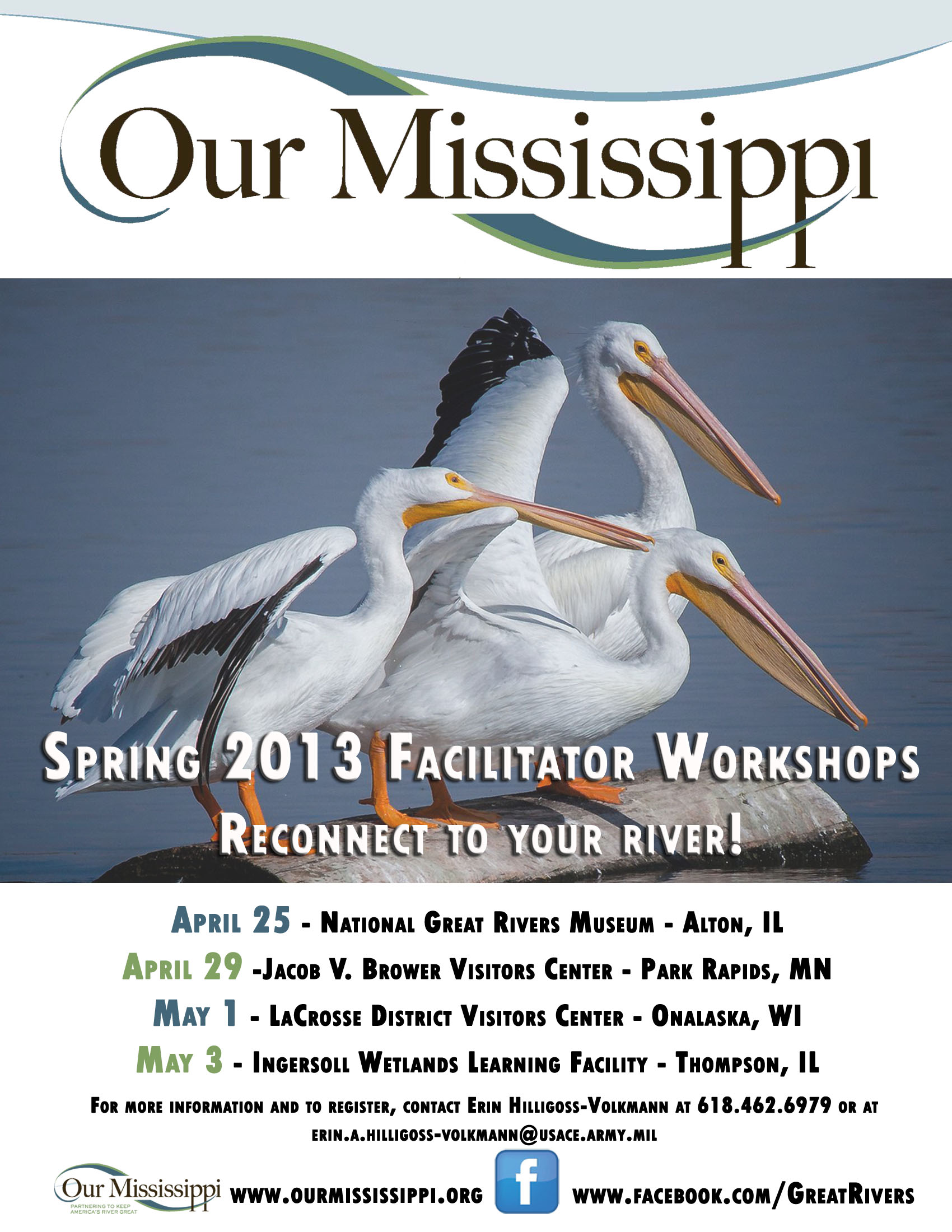 2013 Our Miss Facilitator Workshops