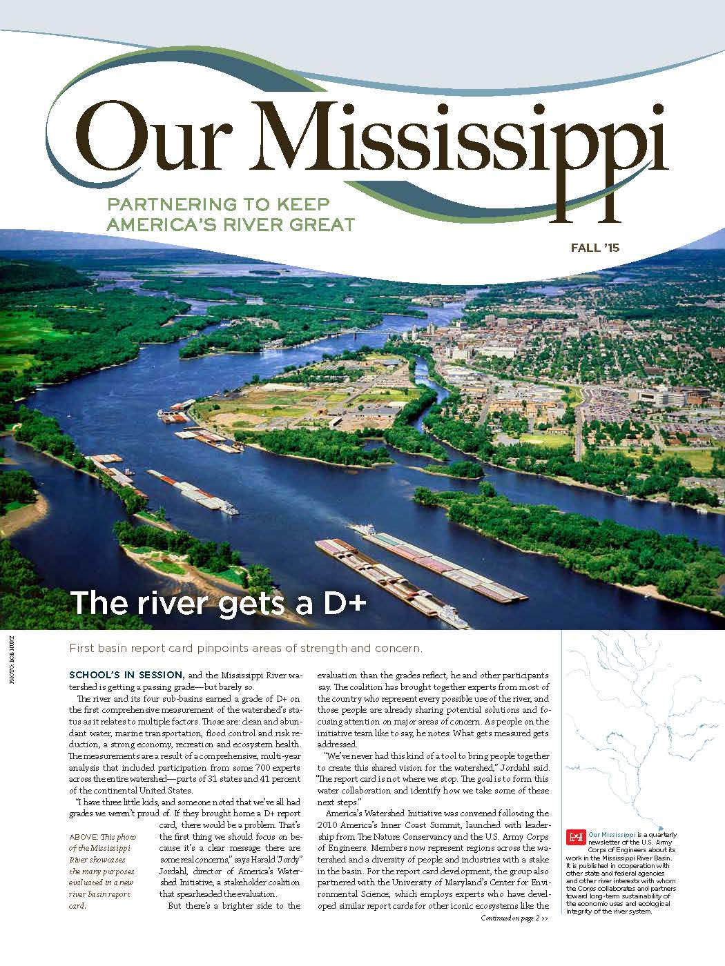 Fall 2015 issue of Our Mississippi.